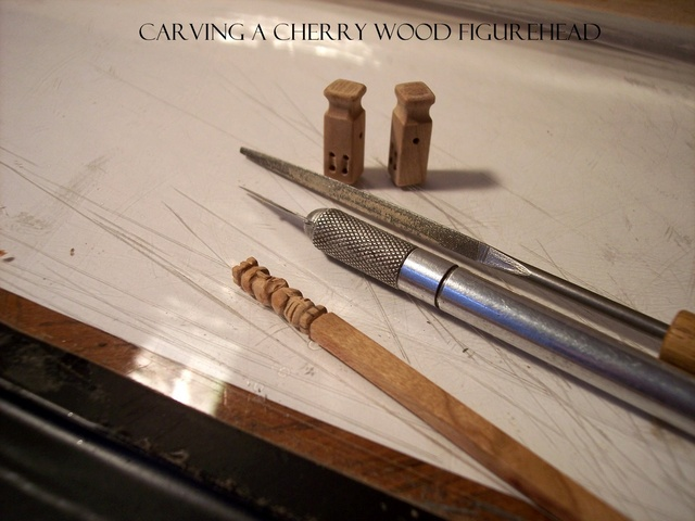 CHERRY WOOD CARVING