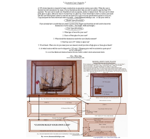 Model Ship Case Inquiry