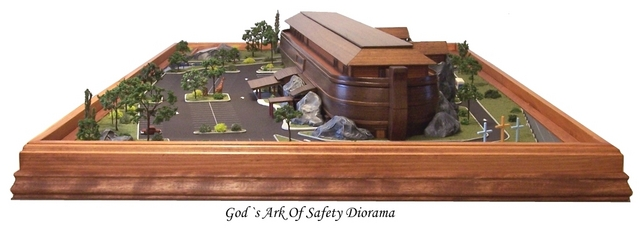 Gods Ark Model Diorama