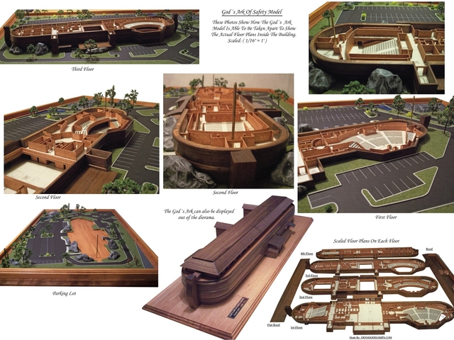 Gods Ark Of Safety Floor Plans